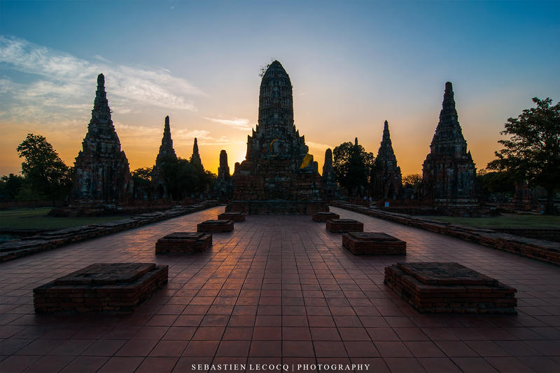 Ayuthaya - Wat Chai Wattanaram by lux69aeterna