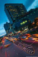 Bangkok Rush Hour by slecocqphotography