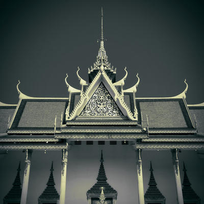 Cambodia - Silver Pagoda by lux69aeterna