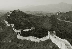 Great Wall of China by slecocqphotography