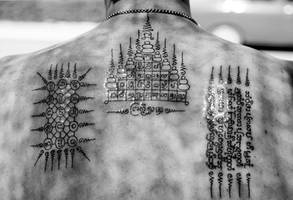 Thailand | Ritual Protection Tattoo by slecocqphotography