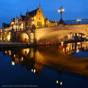 Gent - Fairytale Reflection by slecocqphotography
