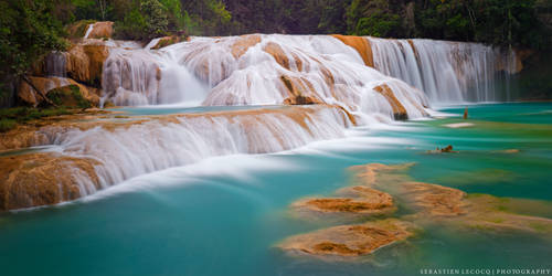 Mexico | Agua Azul by slecocqphotography