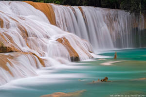 Mexico | Waterfall of the Gods by slecocqphotography