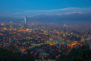 Santiago de Chile by slecocqphotography