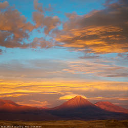 Chile - Desert Sunset by slecocqphotography