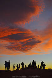 Chile - Sunset Silhouettes by slecocqphotography