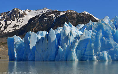 Chile | Grey Glacier by slecocqphotography