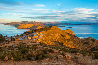 Bolivia - Titicaca Lake by slecocqphotography