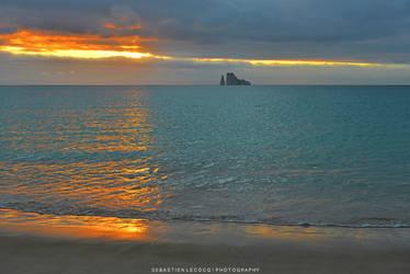 Ecuador | Galapagos Sunset by slecocqphotography