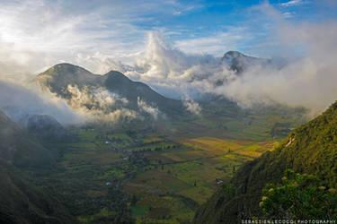 Ecuador   Pululahua by slecocqphotography