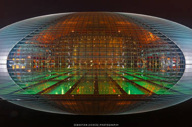 China | Light in Darkness by slecocqphotography