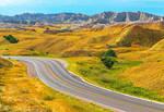 USA   Yellow Mountain Road
