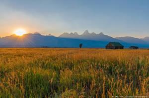 USA   Grand Teton Sunset