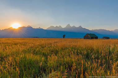 USA | Grand Teton Sunset by slecocqphotography