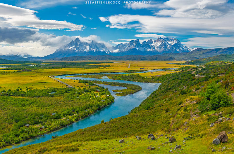 Chile   Torres del Paine by slecocqphotography