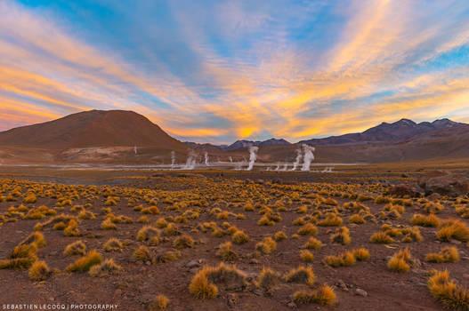 Chile   Volcanic Sunrise