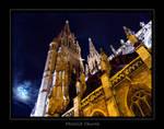 Belgium - Moonlit church