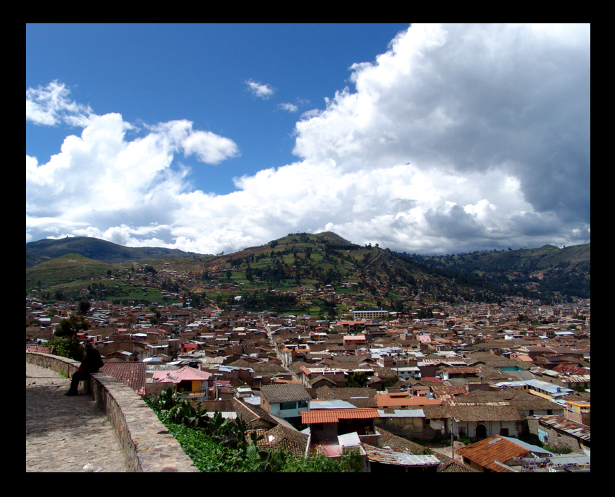 Cityscape of Cajamarca by lux69aeterna