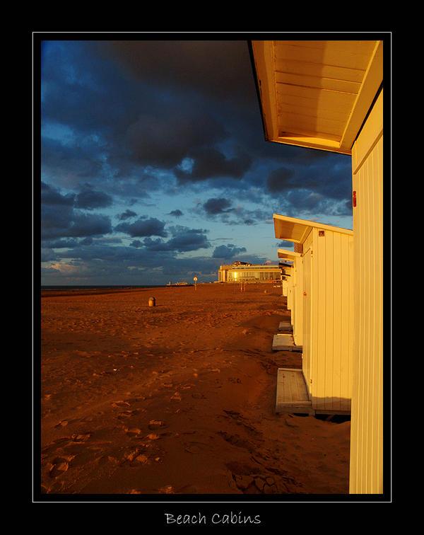 Oostende - Beach cabins by lux69aeterna