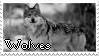 Wolves|Stamp by Crvyons
