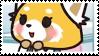 Retsuko Stamp by Crvyons
