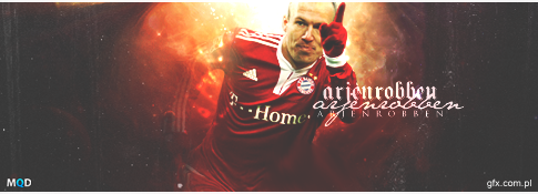 Arjen Robben by MichalQ