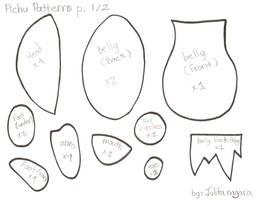 Pichu patterns by Julika-Nagara