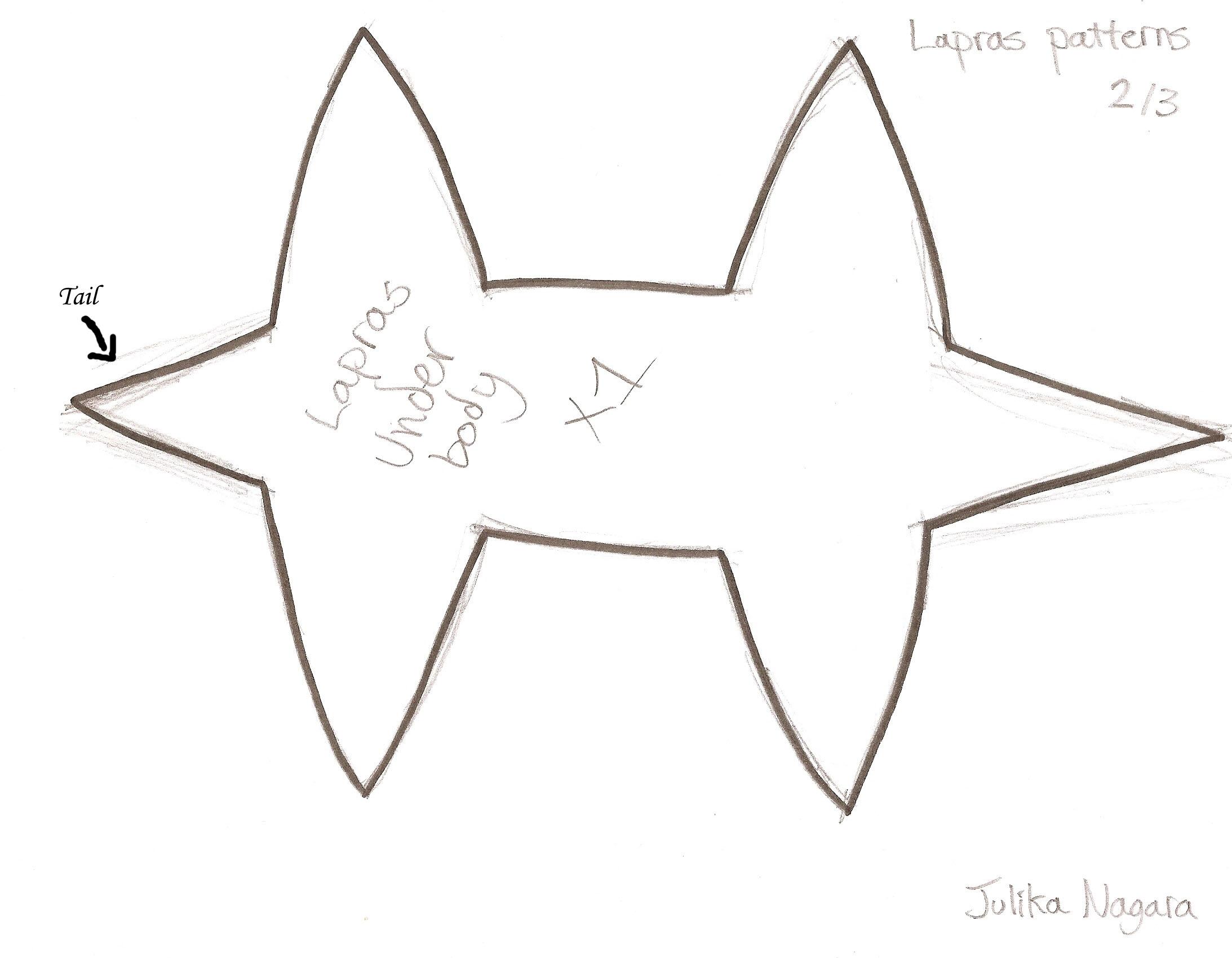 Lapras patterns p2 by Julika-Nagara