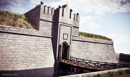 The Belgrade gate  - Fortress of Nis by UEGProductions