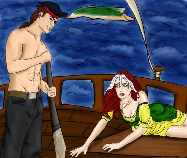 X-Pirates by romyextrafan