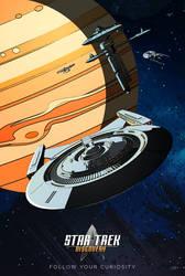 Star Trek: Discovery - Follow Your Curiosity by GeekFilter