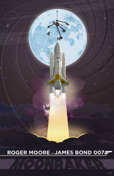 Moonraker - A Tribute to Roger Moore by GeekFilter