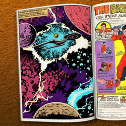 Jack Kirby inspired Star Trek: Discovery Comic by GeekFilter