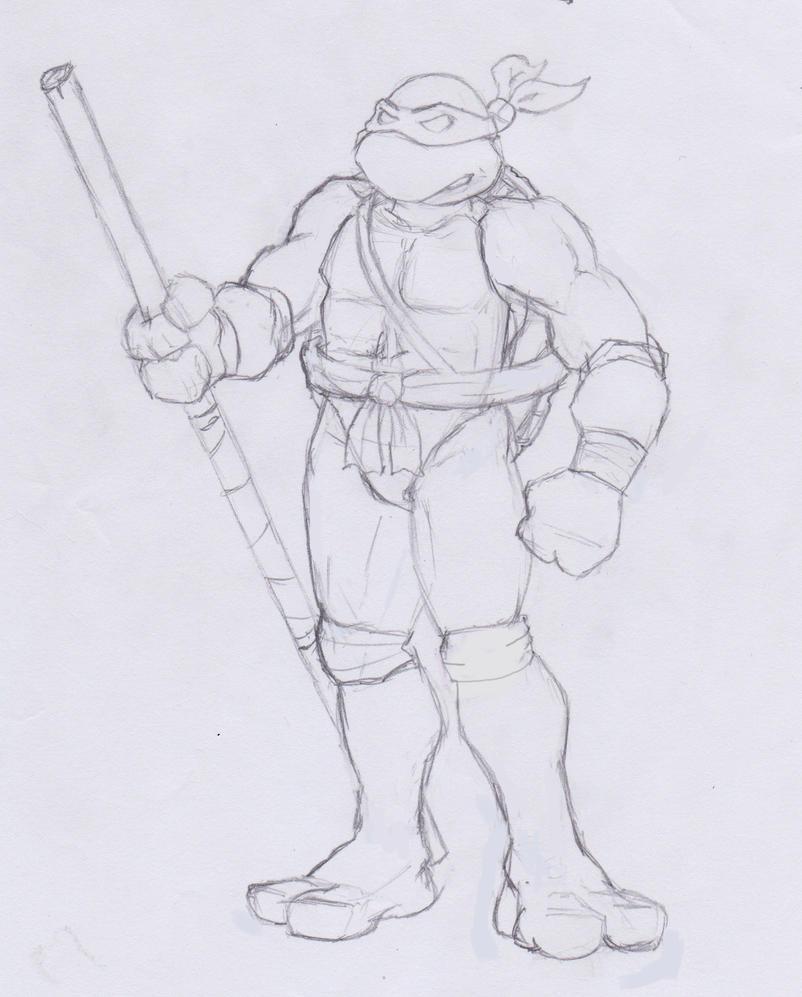 Donatello by shiroboi