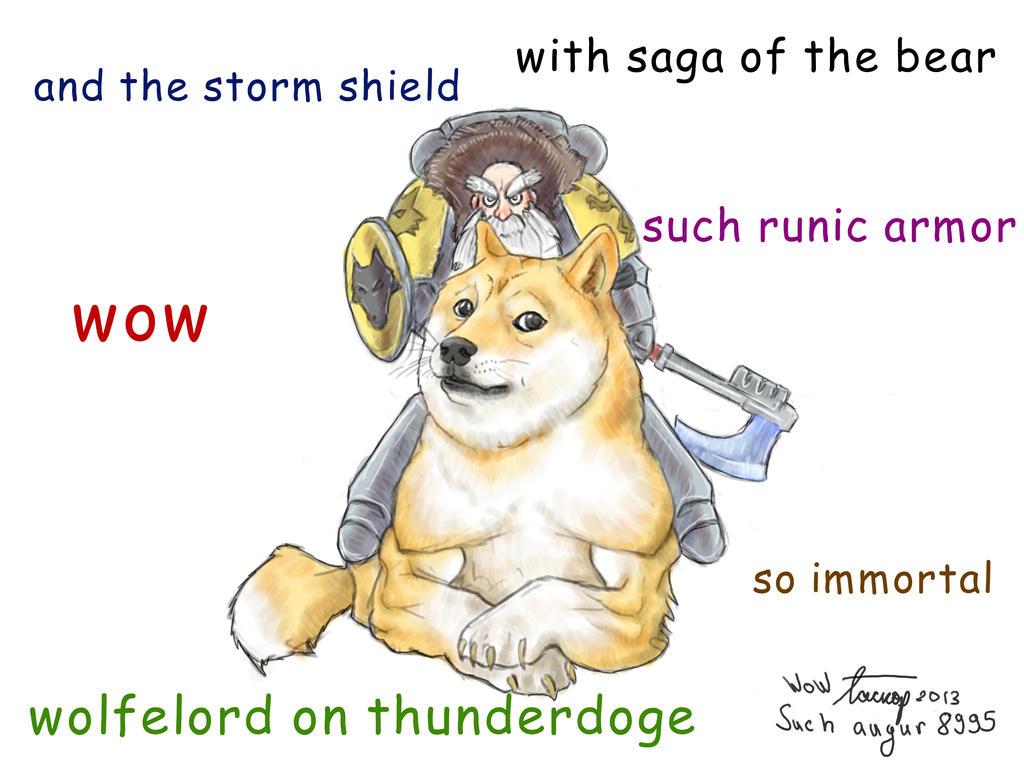 Thunderdoge by HermanPriest