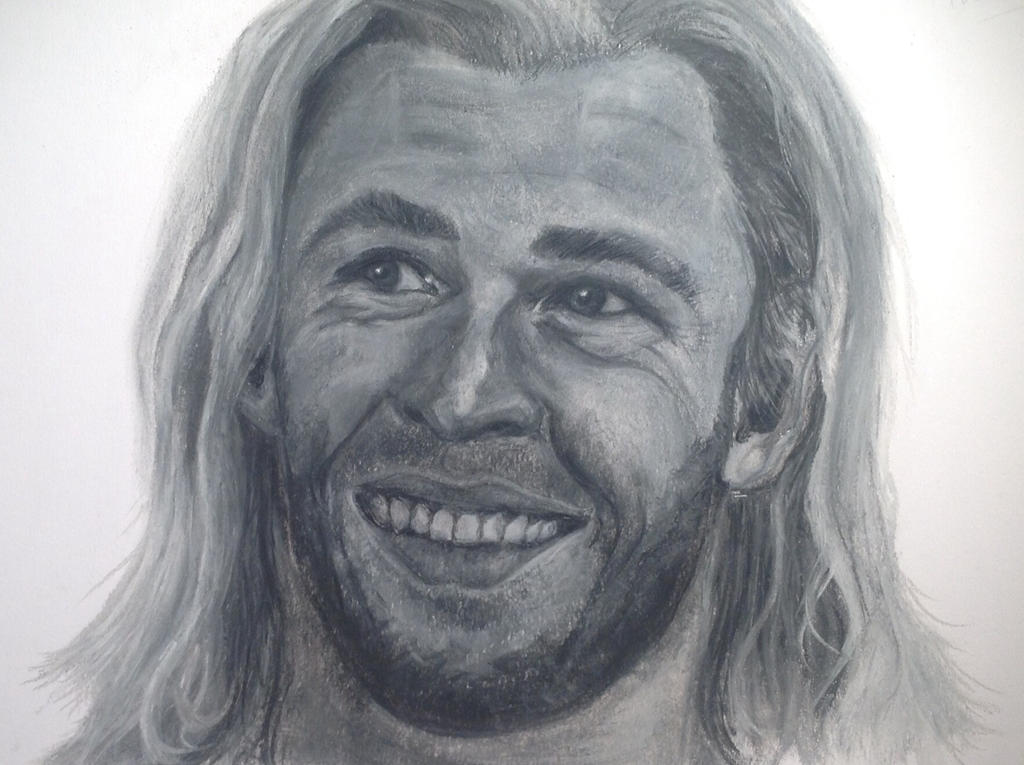 Chris Hemsworth ~ Thor Odinson by FlatMarshmallow - chris_hemsworth___thor_odinson_by_flatmarshmallow-d70us2p