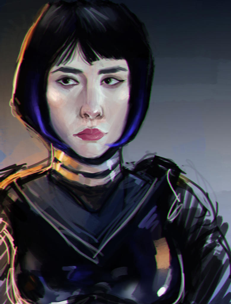 (Unfinished) Mako Mori by Delve-Mil