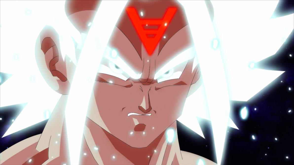 Super Saiyan White Goku by MastarMedia