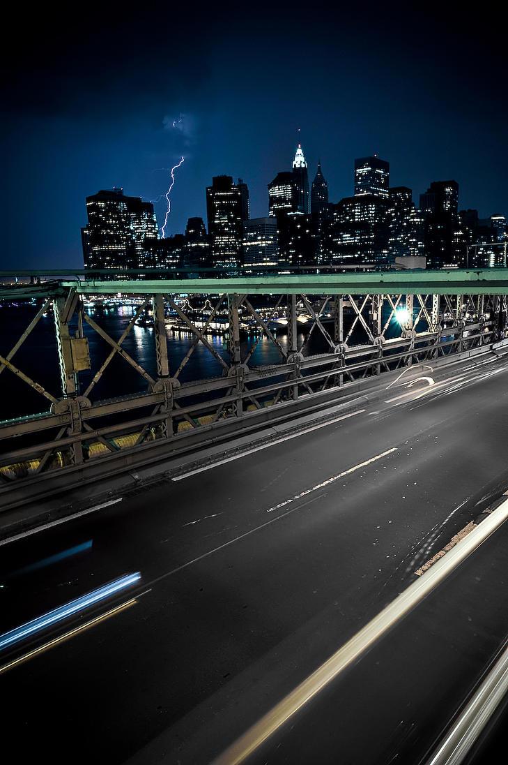 New York: The Brooklyn Bridge by draster