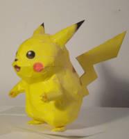 Pikachu by jewzeepapercraft
