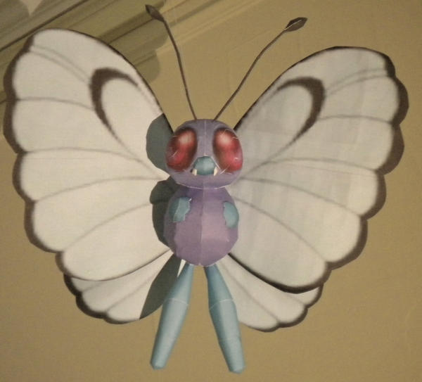 Butterfree by jewzeepapercraft