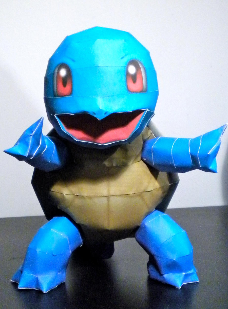 Squirtle by jewzeepapercraft