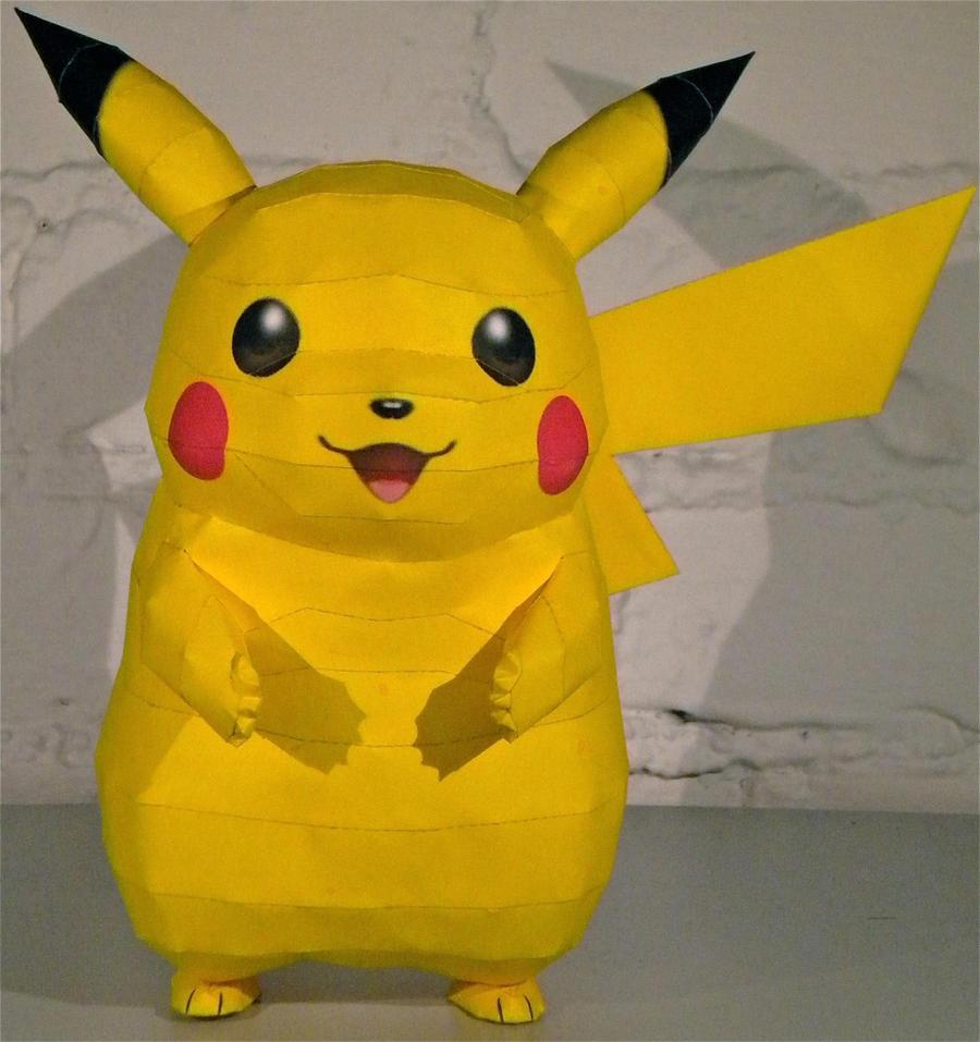 Pikachu V2 by jewzeepapercraft