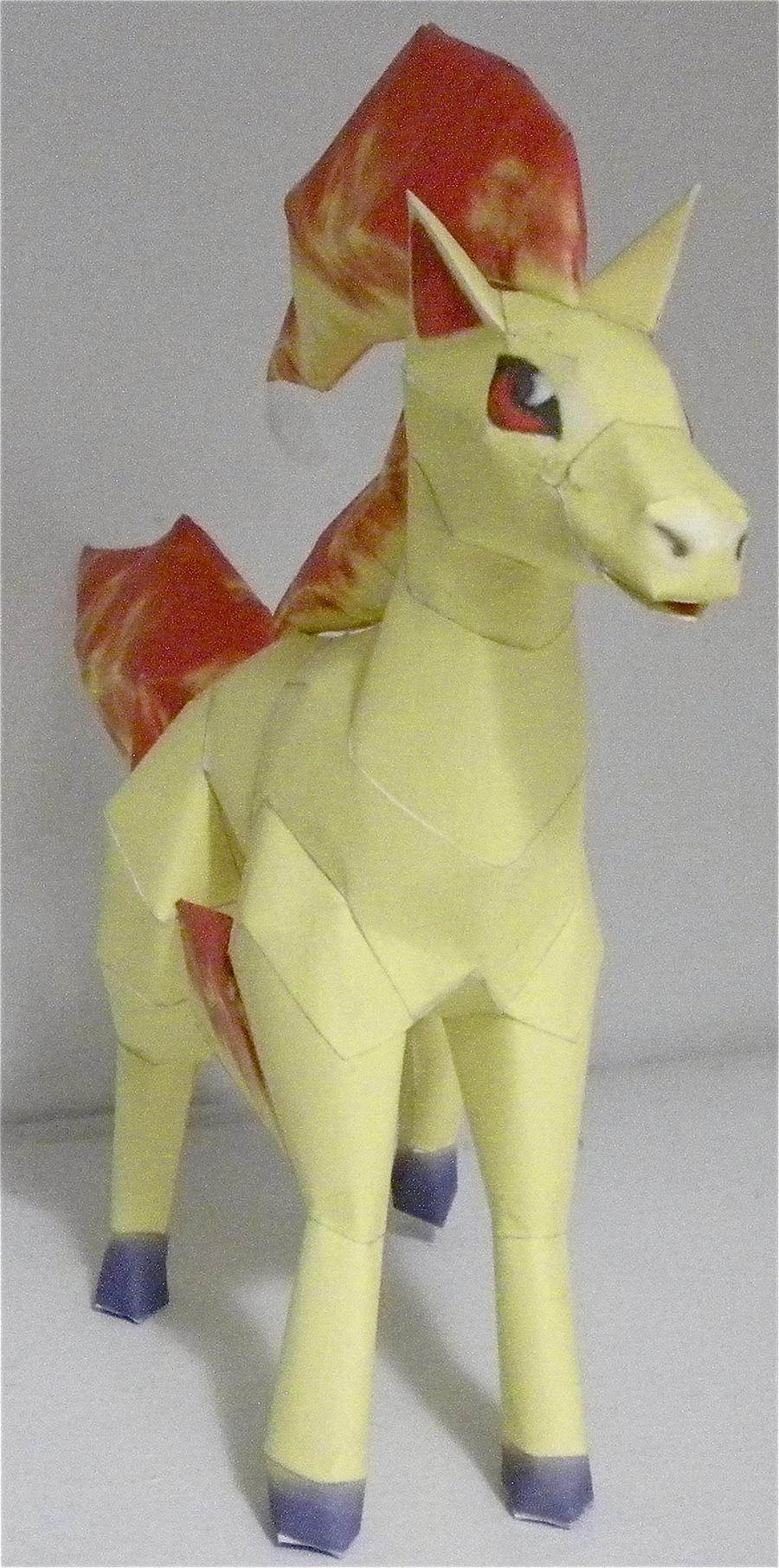 Ponyta by jewzeepapercraft