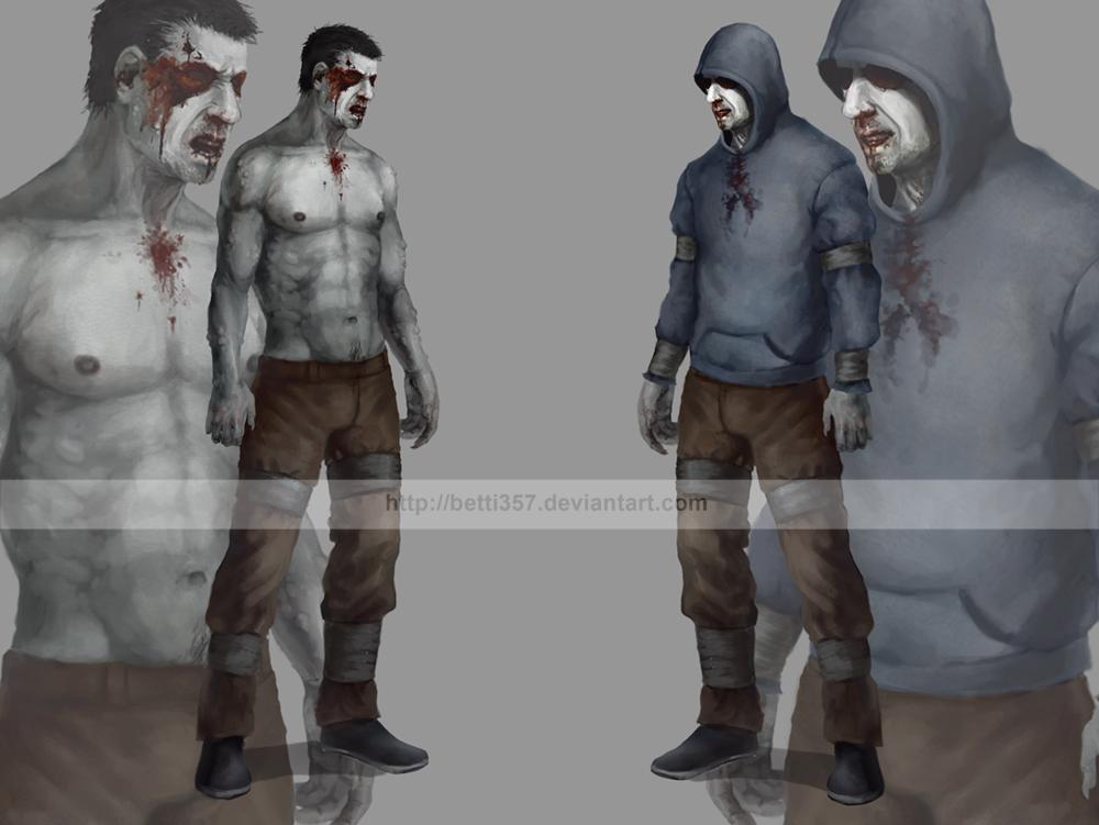 Left 4 dead- Hunter by betti357