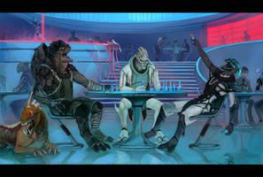 Mass Effect - Friends... by betti357