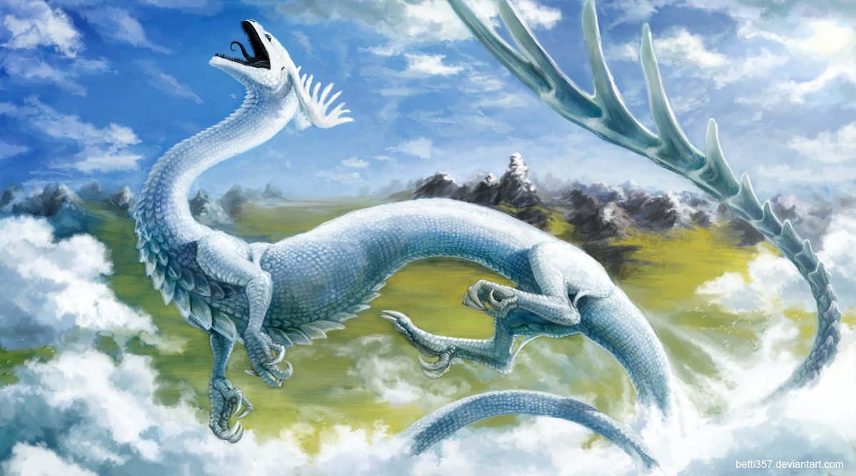 playful dragon by betti357