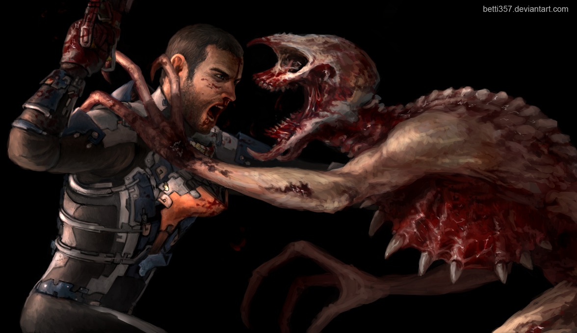 Dead Space - Isaac x Stalker by betti357