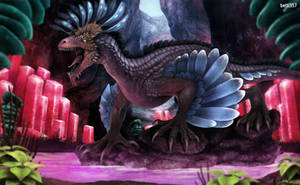 Ark Survival Evolved- Rock Drake by betti357